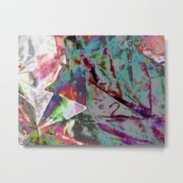Polished Paper Structure  Metal Print