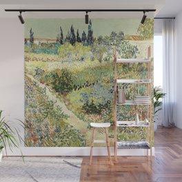 Vincent Van Gogh : Garden at Arles Wall Mural