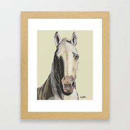 Farm Animal Art, Horse Art Framed Art Print