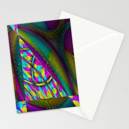 The Fabric of Opulence Stationery Cards