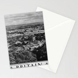 retro monochrome Britain Stationery Cards