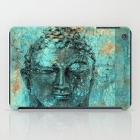 buddha iPad Cases featuring Buddha by woman
