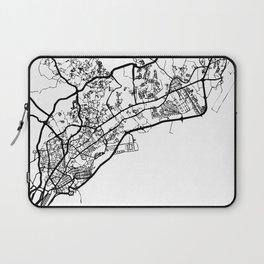 PANAMA CITY PANAMA BLACK CITY STREET MAP ART Laptop Sleeve