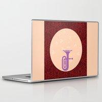 trumpet Laptop & iPad Skins featuring Trumpet by Design4u Studio