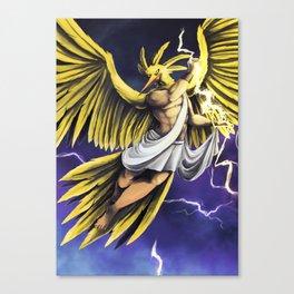 Zapdos Canvas Print