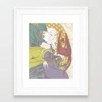 daenerys targaryen Framed Art Prints featuring Daenerys (2013) by mothroot