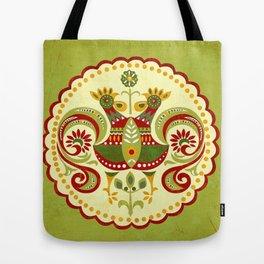 Folklore Mandala Tote Bag