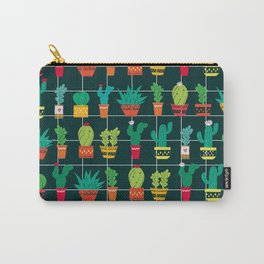 Cacti in pots Carry-All Pouch