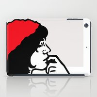 libra iPad Cases featuring Libra by Bree Stillwell Craft