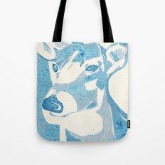 Deerest Blue Tote Bag