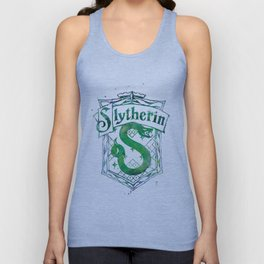 Slytherin Crest Unisex Tank Top