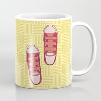 dorothy Mugs featuring dorothy  by freshinkstain