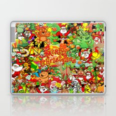 In Christmas melt into the crowd and enjoy it Laptop & iPad Skin