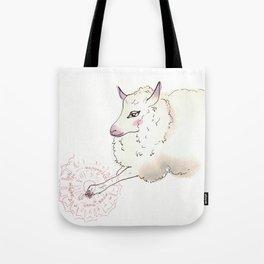 Wise Sheep Tote Bag