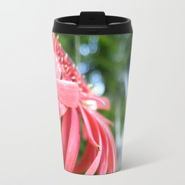 Red in Focus Travel Mug