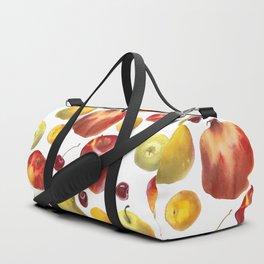 Watercolor frut Duffle Bag