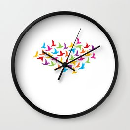 Human Kind Be Both Motive for a Hobbyists Wall Clock