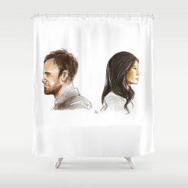 elementary: better half [2] Shower Curtain