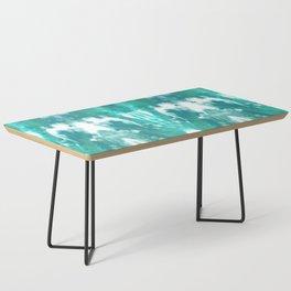 Aqua Blue Lagoon Coffee Table