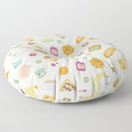 Who else loves breakfast? Floor Pillow