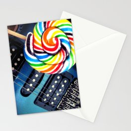 Lollipop Guitar Stationery Cards