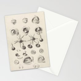 Anatomical Study of the Eye, 1685 Stationery Cards