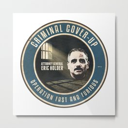Fast And Furious Cover Up Metal Print