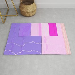 Squares combined no. 10 Rug