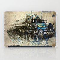 truck iPad Cases featuring Truck by Svetlana Sewell