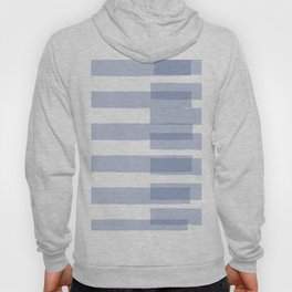 Big Stripes in Light Blue Hoody