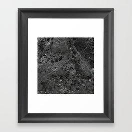 Hawaii Lava Rock Framed Art Print