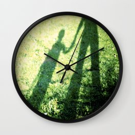 SON AND FATHER Wall Clock