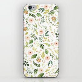 Botanical Spring Flowers iPhone Skin