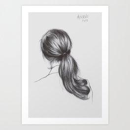 Moschino - Off White Art Print
