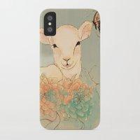 lamb iPhone & iPod Cases featuring Lamb by La Cococita