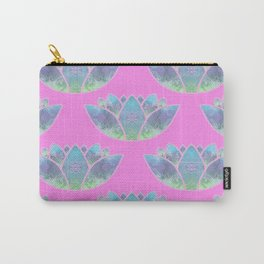 Floating Lotus Flowers Carry-All Pouch
