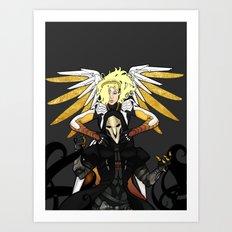 heroes never die Art Print