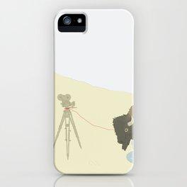 Bison & Camera iPhone Case