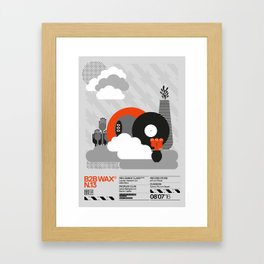 B2B Wax N.13 Framed Art Print