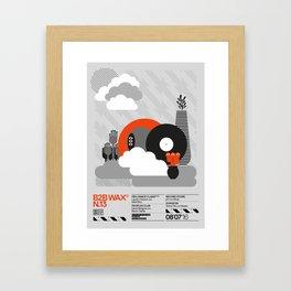 B2B Wax N.13 Framed Art Print