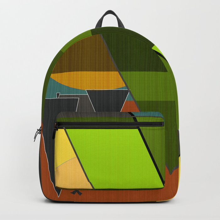Abstraction. Backpack