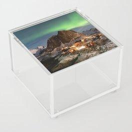 Northern Lights Over Hamnøy Acrylic Box