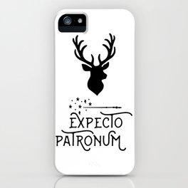 Expecto Patronum iPhone Case