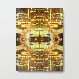 PARADIGM Metal Print