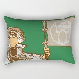 Traveling Uncle Matt Rectangular Pillow