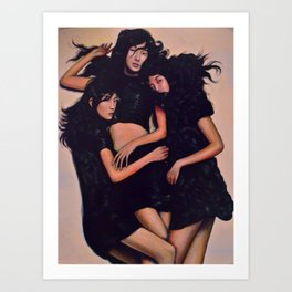 The Bonds in Our Hair. Art Print