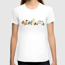 Woodland Bird Collection T-shirt