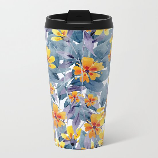 Tender Summer Metal Travel Mug