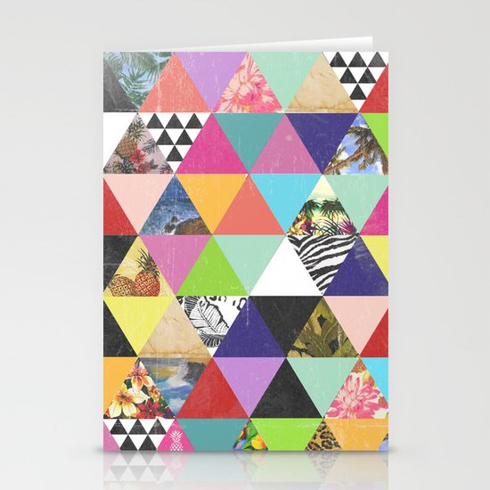 A bit of tropical geometry Stationery Cards