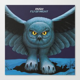 Rush Fly By Night Canvas Print